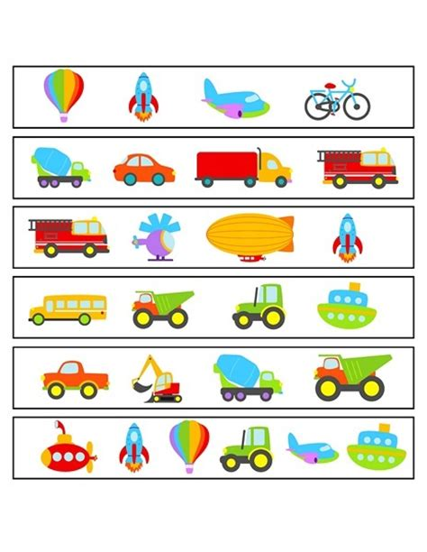 transportation for preschool templates pictures to pin on