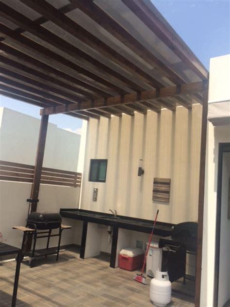 techos de madera para terrazas techos de madera para terrazas ventilador para