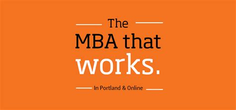 Mba Vs Masters In Logistics by Portland Degree Programs College Of Business