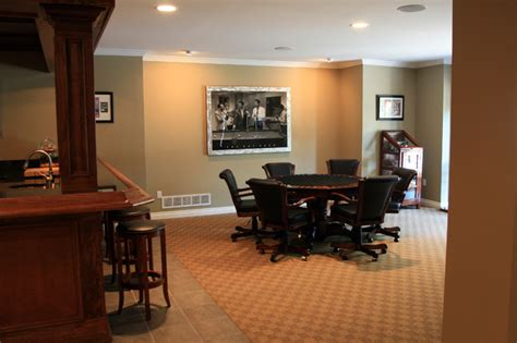 finished basement rochester mi traditional basement