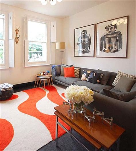 orange rugs for living room finding the right living room mix orange rugs living rooms and room