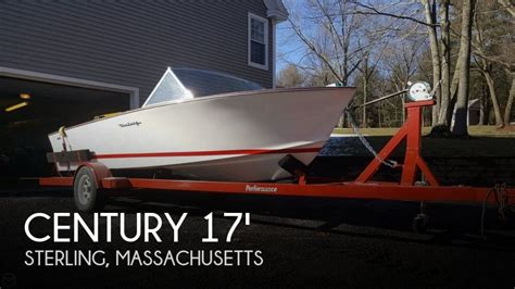 century boats for sale massachusetts for sale used 1966 century fibersport 17 in sterling