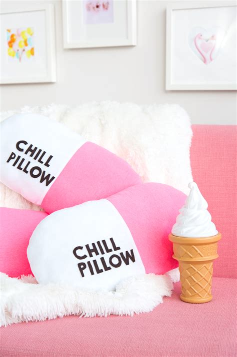Chill Pill Pillow by 187 Easy Diy Chill Pill Ow
