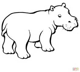 coloring pages hippo baby hippo coloring coloring