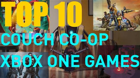 couch co op games xbox 360 top 10 xbox one couch co op games youtube