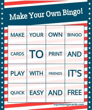 card creator with custom template 25 best ideas about bingo card generator on