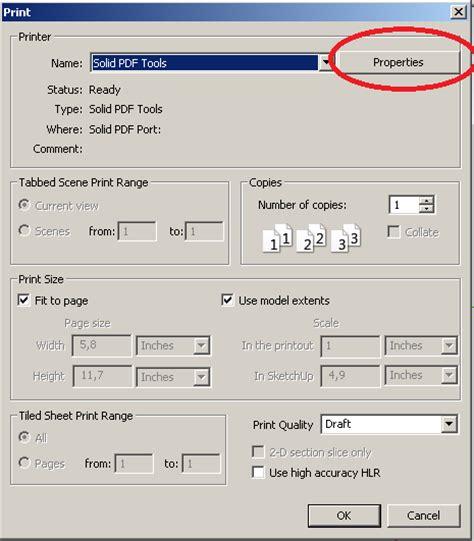 tutorial ngeprint autocad cara print cetak pada sketchup kursus komputer di