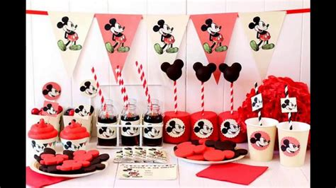 cumplea os mickey mouse decoracion decoraciones infantiles la casa de mickey mouse
