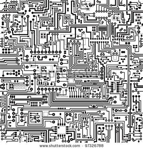 electronic pattern for photoshop computer circuit board pattern vector seamless texture