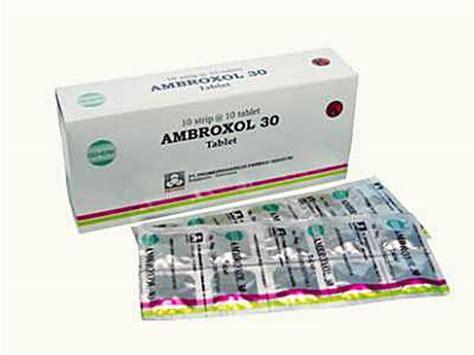 Obat Batuk Ambroxol 9 obat batuk berdahak paling uh di apotik 5 obat