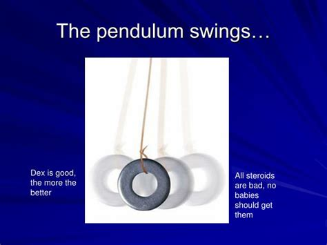 the pendulum swings ppt controversial therapies in neonatal care powerpoint
