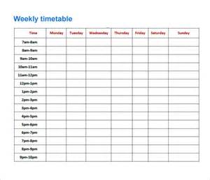 school study schedule template image gallery timetable template