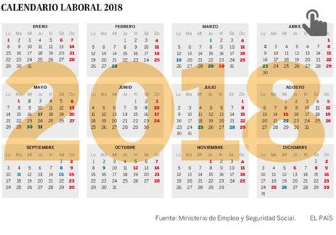 Calendario 2018 Uruguay El Calendario Laboral De 2018 Permite Cuatro Puentes