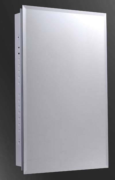 Semi Recessed Medicine Cabinet Ketcham 125 Pr K 16 X 26 Semi Recessed Mirrored Bathroom