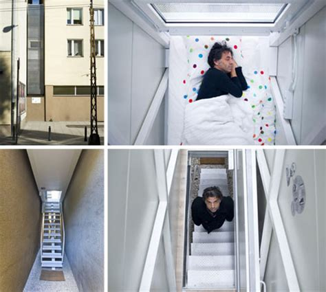 4 foot wide home in poland is now thinnest in the world