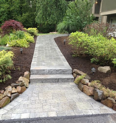 walkways for every desire in rockland county n bergen tgw landscaping contracting inc