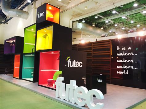 booth design in egypt futec booth building show egypt 2015 mental flame on