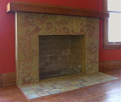 Fireplaces ? Pasadena Craftsman Tile