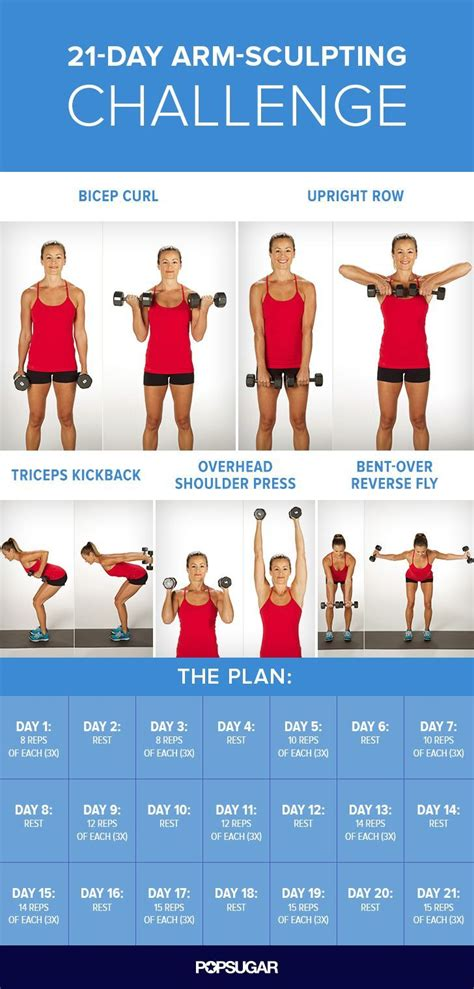 30 day arm exercise challenge 21 day arm sculpting challenge pictures photos and