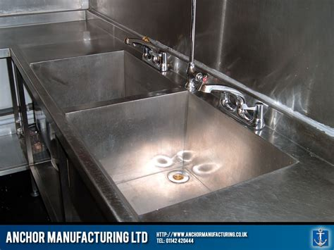 restaurant kitchen sink installed anchor manufacturing ltd