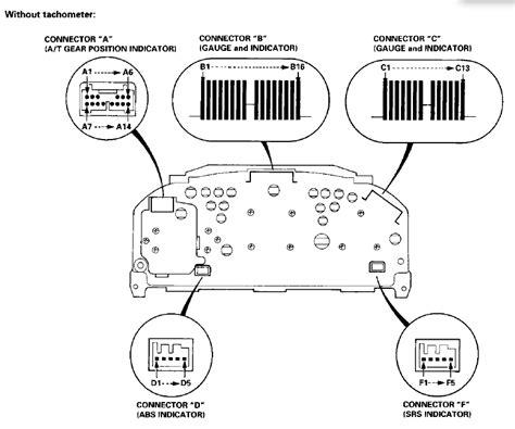 honda civic tachometer wiring diagram k