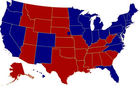 us map electoral votes 2008 2008 presidential election