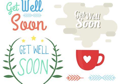 get well soon element vectors download free vector art