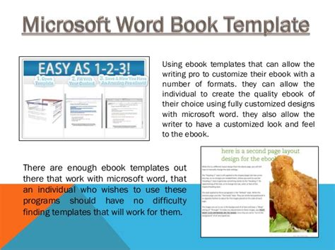 ebook word template ms word ebook template