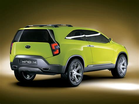 kia cars and suvs kia knd 4 suv concept car design