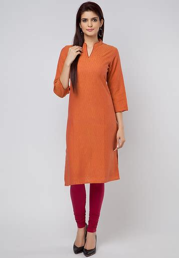 Fabindia Gift Card - buy fabindia cotton orange kurti for women online india best prices reviews