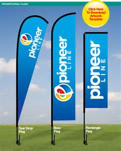 pin advertising flags quality outdoor products on