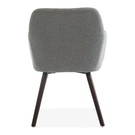 small grey armchair grey two tone wool upholstered hanover small armchair