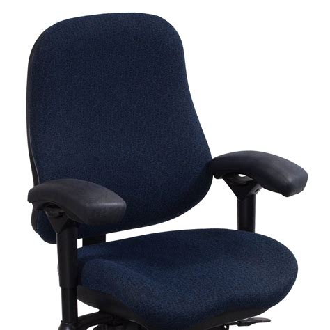 blue pattern chair body bilt j2507 used task chair blue pattern national