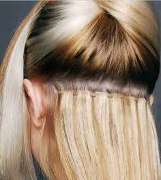 beaded weft extensions 301 moved permanently