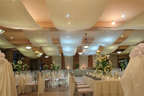 ceiling draping for weddings different kind of draped ceiling flowers and decor