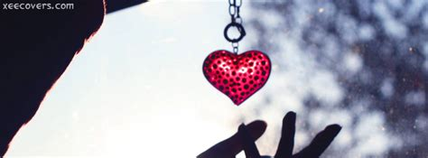 hanging heart fb cover photo xee fb covers