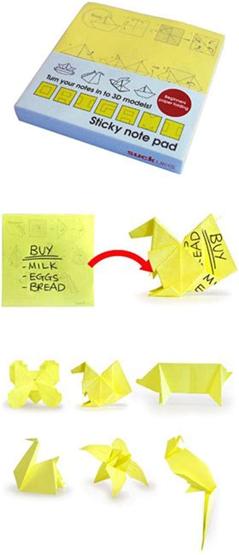 Origami Sticky Notes - stuff i and origami on