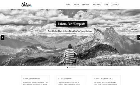 urban serif webplus templates