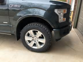 33 Inch Truck Tires And Rims 2015 With Stock 20s And 33 Inch Tires Ford F150