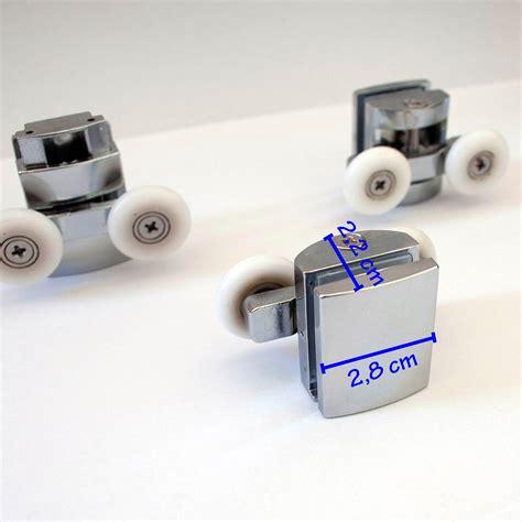 pezzi ricambio box doccia kit8 cuscinetti ricambio rotelline box doccia cabina porta