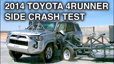 accident recorder 1996 toyota 4runner navigation system 2014 toyota 4runner side crash test crashnet1 youtube
