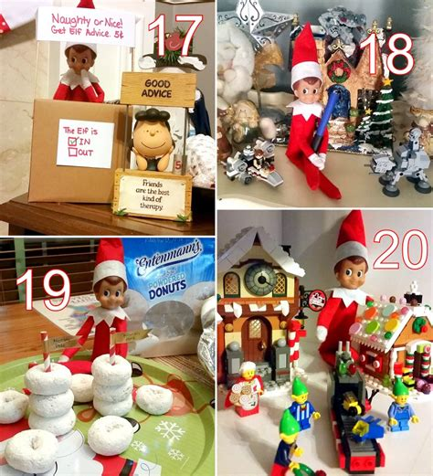 ideas elf on the shelf 24 cute elf on the shelf ideas the scrap shoppe