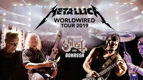 metallica june 2019 metallica worldwired european summer vacation 2019 tour