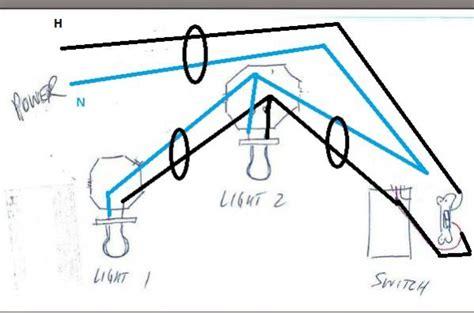 Fluorescent Light Fixture Troubleshooting Troubleshooting Problem Wiring Power Gt Two Fluorescent Ballasts Gt Switch Doityourself