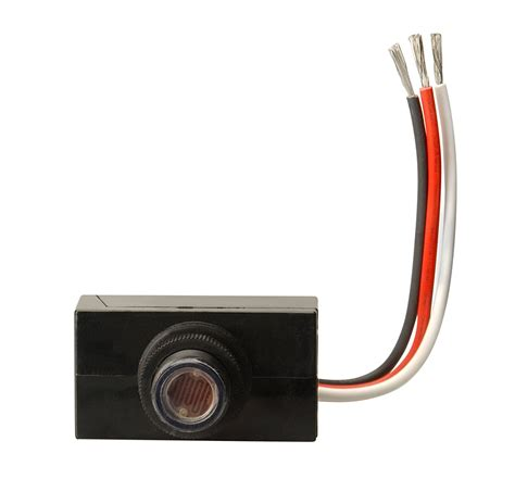 sensor for outdoor light woods 59408 outdoor hardwire post eye light with