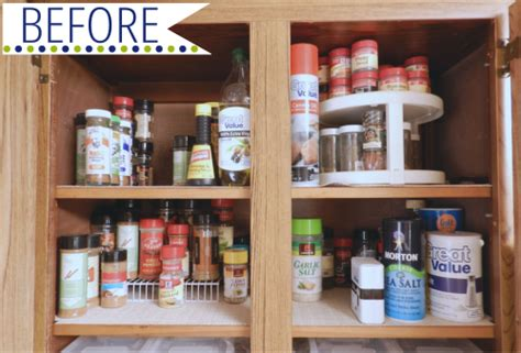 How To Organize A Small Kitchen Without A Pantry by How To Organize Your Spice Cabinet Organize Your Kitchen