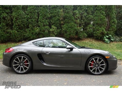 porsche cayman 2015 grey 2014 porsche cayman s in agate grey metallic photo 7