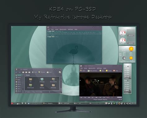 pc bsd themes refractions my kde4 on pcbsd isotope by rvc 2011 on
