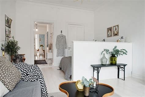 One Bedroom Apartment Decorating Ideas scandinavian apartment makes clever use of small space