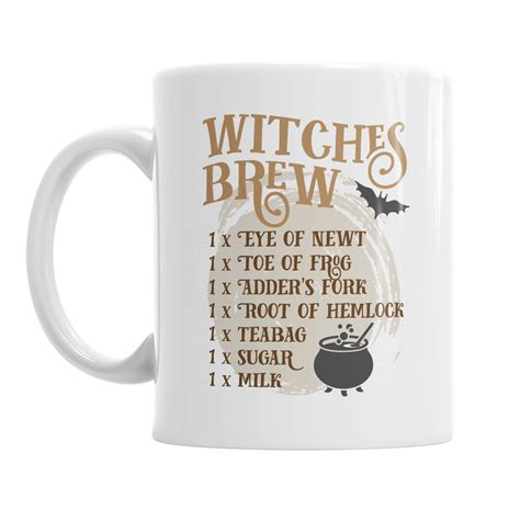 Witches Brew Coffee Cup by Witches Brew Mug Studio 152